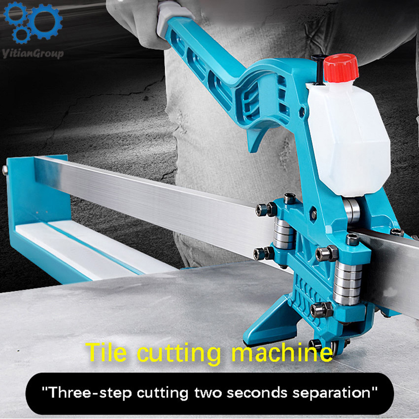 1000MM High Precision Laser Infrared Manual Tile Cutting Machine Tiles Push Knife Floor Wall Tile Cutter Cutting Knife 6-15mm