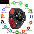 Mfs apple watch dt78 redondo relógio inteligente pulseira de fitness rastreador atividade masculino mulher dispositivos wearable banda freqüência cardíaca