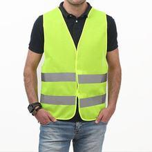 Carro reflexivo vestuário para colete de segurança corpo seguro dispositivo de proteção instalações tráfego para correr ciclismo esportes vestuário colete