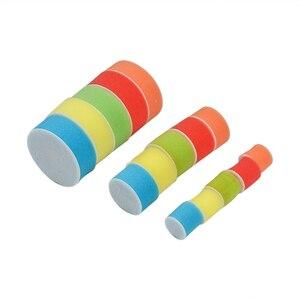 Image 2 - Ensemble de 29 pièces, 1/2/3 pouce pour perceuse, tampon de polissage, Kit de mélange de tailles + adaptateur de coussin de support M14, outils électriques, tampons de polissage