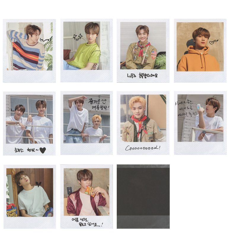 10pcs/set Kpop NCT 127 Dream Photocard SUMMER VACATION KIT Album Good Quality HD Nct 127 Dream Kpop Photo Card Fans Collection