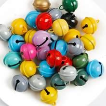 22mm belles cloches de Jingle décoration de fête de noël pendentifs perles en vrac bricolage artisanat cloches d'arbre de noël accessoires faits à la main