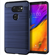 casa phones accessories for LG V35 ThinQ case G6 X2 2019 K50 Brushed silicone anti falling shell stranger things phone cases(China)