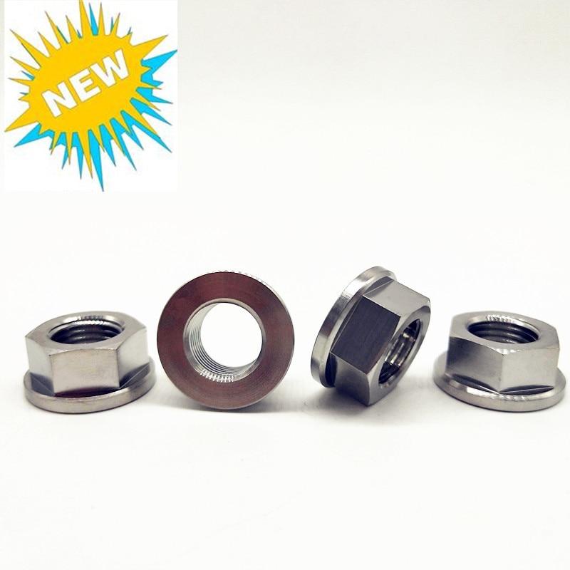 Titanium Gr5 Flange Nuts 1.25 PITCH M5 M6 M8 M10 Grade 5