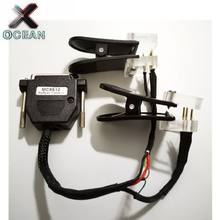 Adaptateur de lecture de données de haute qualité pour BMW MC9S12, câble de flash + Clip lit les données CAS4 sans soudure