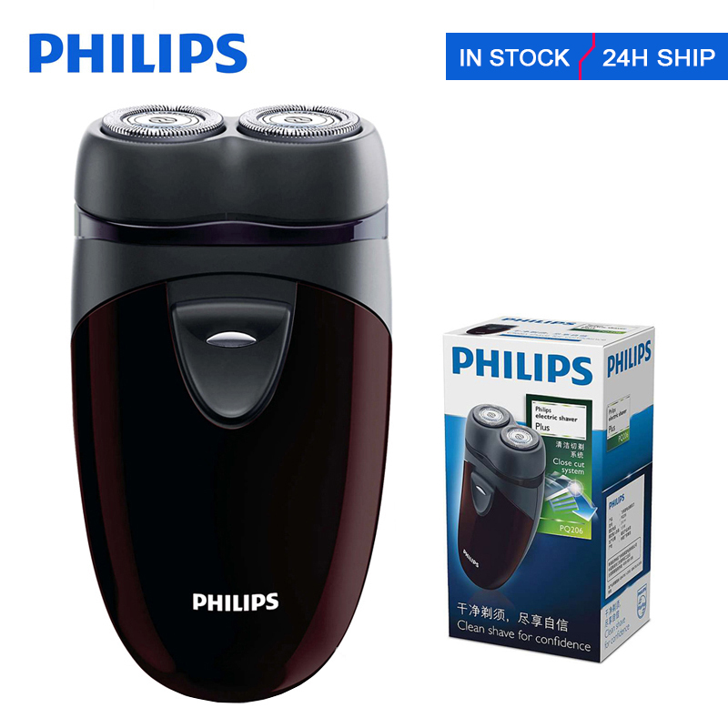 Philips Electric Shaver PQ206 With HQ4 Head Blade Two Floating Heads Facial Contour Tracking For Men's Face Razor