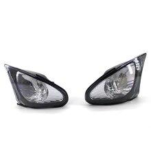 Car LED Corner Marker Parking Light Turn Signal Lamp Left Right Trim for BMW 3 series E46 4-door 318i 320i 325i 330i 2002-2005