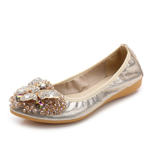 2018 Brand Women Pointed Toe Flats Loafers Fashion Ballet Flats Ladies Lolita Flat Shoes Black Silver Shoes For Women Size32-45 ggob 2018 womens flats outdoor walking white canvas shoes ladies casual women loafers brand fashion black high gang flat with