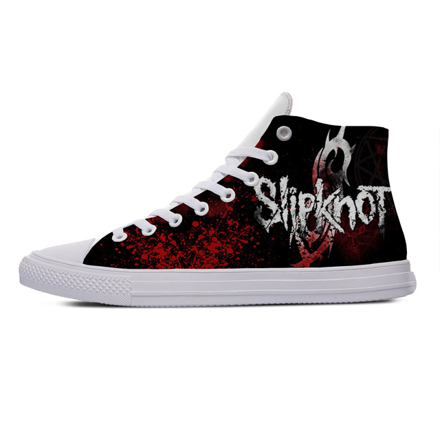 SLIPKNOT THEMED HIGH TOP SHOES (5 VARIAN)