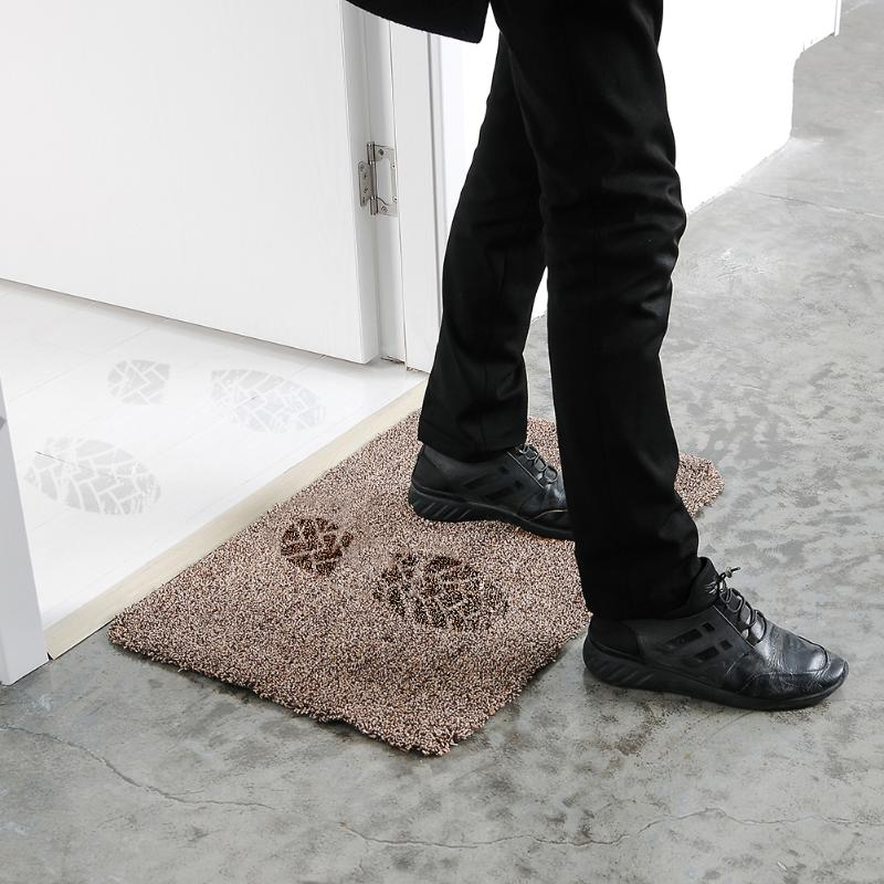 Felpudo absorbente de lana antideslizante, esterilla cómoda y limpia pata  de mascota respetuosa con el medio ambiente, felpudo puro para puerta de  cocina, alfombra para decoración del hogar, alfombra limpia|Alfombra| -  AliExpress