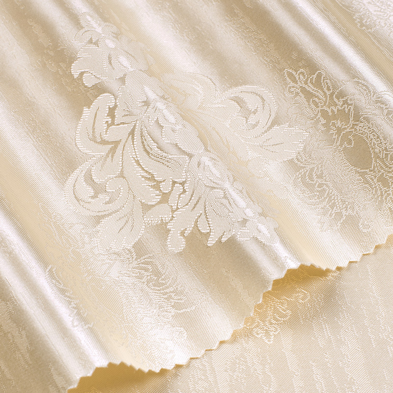 European Style Home Improvement Embroidered Seamless Wall Cloth Simple European Living Room Bedroom TV Backdrop Wall Jacquard Wa