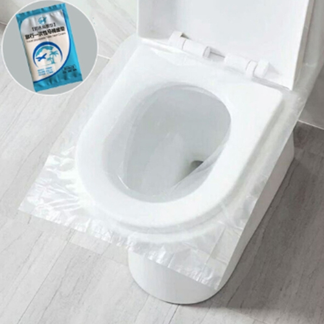 Super Sale 965bc 150 Pcs Portable Disposable Toilet Seat Cover Safety Travel Bathroom Toilet Paper Pad Bathroom Accessories Cicig Co
