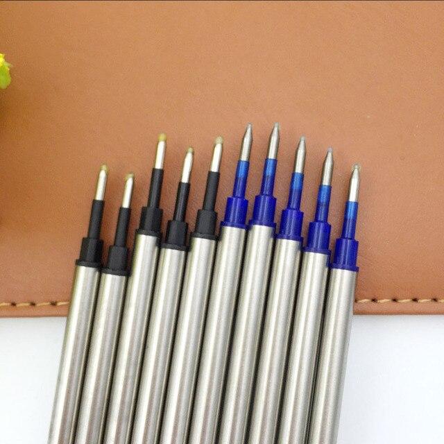 5 pcs/lot Metal Refills 0.5mm for Roller Ballpoint Pen Business Pen Ball Pen Refills 11cm Length Office School Supply Stationery 2