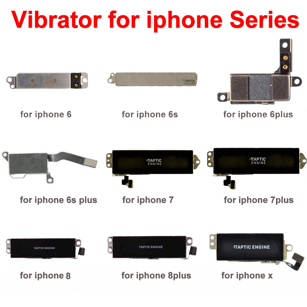 Aokin Vibrator For IPhone 5 5S 5C 6 6S 7 8 Plus X Motor Repair Parts Vibrate Motor For Iphone 7 Plus