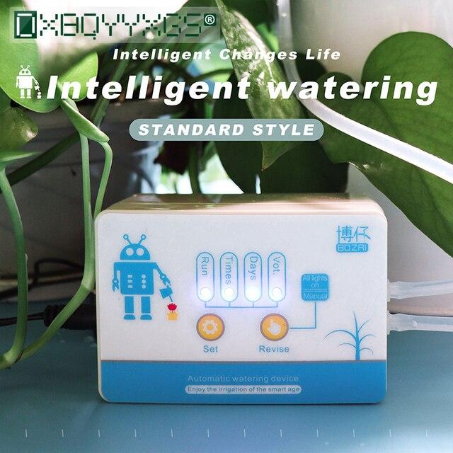 אינטליגנטי גן השקיה אוטומטית מכשיר בשרניים צמח בטפטוף השקיה כלי מים משאבת טיימר מערכת בקר בטפטוף חץ