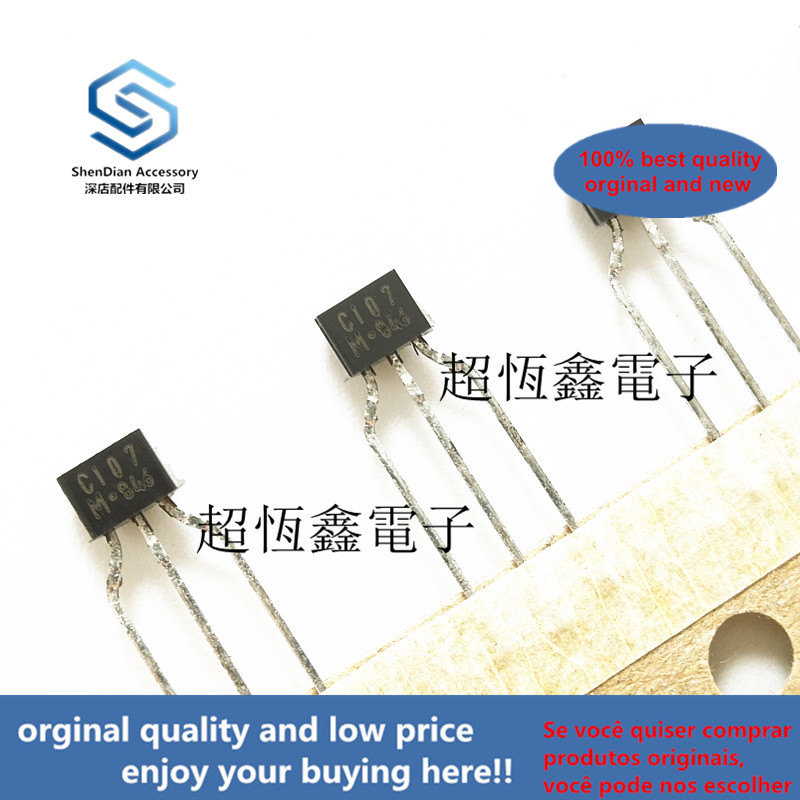 10pcs 100% Orginal New Best Qualtiy KRC107M C107M C107 EPITAXIAL PLANAR PNP TRANSISTOR (SWITCHING, INTERFACE CIRCUIT AND DRIVER