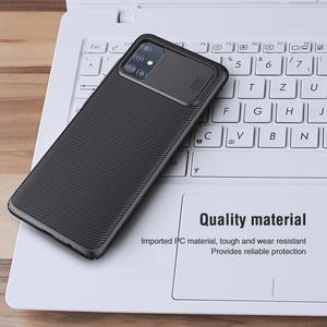 Image 5 - for Samsung Galaxy A51 A71 Case NILLKIN CamShield Case Slide Camera Cover Protect Privacy Classic Back Cover For Samsung A51 A71