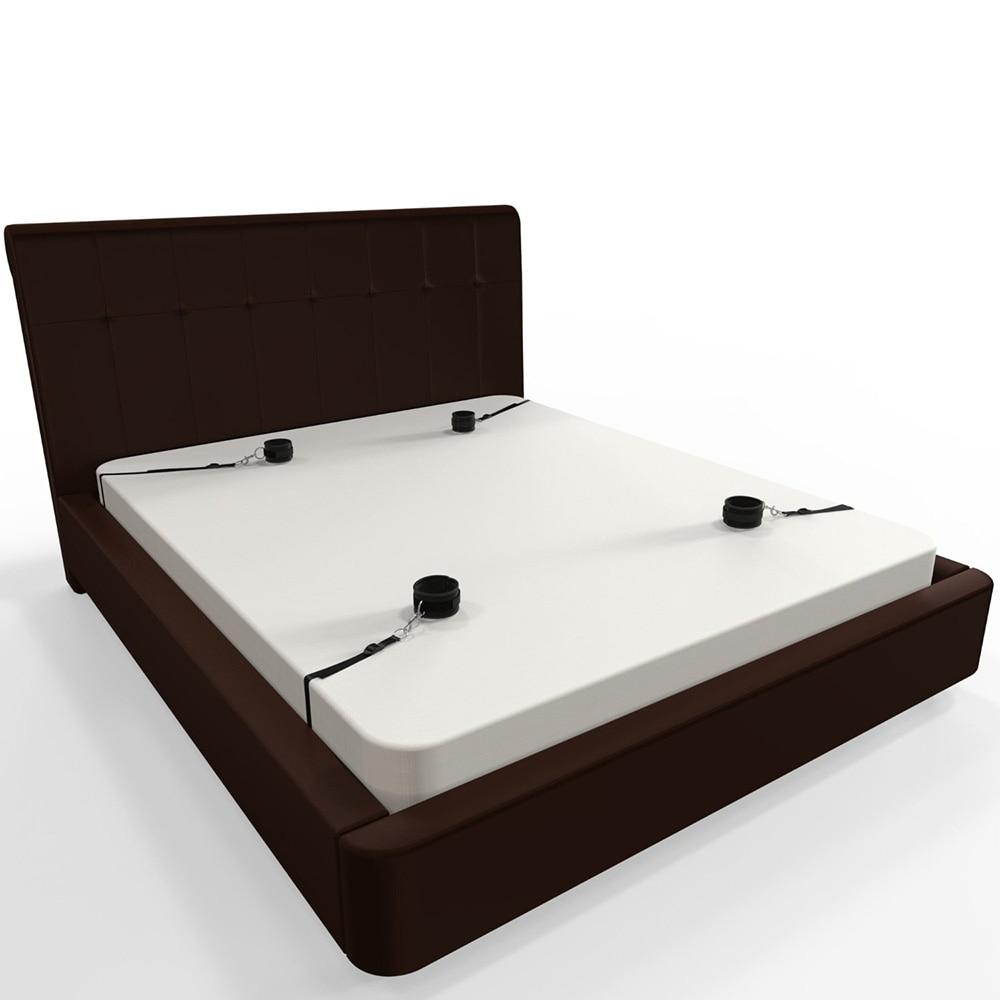 New Under Bed Restraint Fetish Bondage Restraints Slave Bed Restraints BDSM Sex Products Handcuffs Erotic Sex Toys For Couples