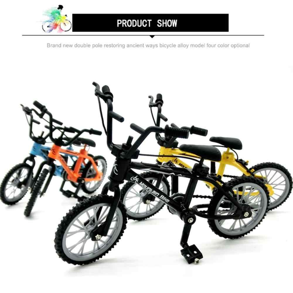 Alloy Finger BMX Functional Kids Bicycle modle Finger Bike Toys Gift }