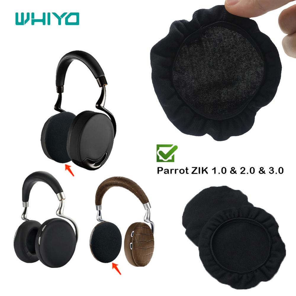 Whiyo Earpads For Parrot ZIK 1.0 2.0 3.0 By Philippe Headphones Stretch Covers Sweat Absorption Washable Germproof Deodorizing