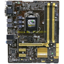 Para ASUS B85M-G placa base LGA1150 DDR3 USB3.0 SATA3.0 Intel B85 Chip placa base M-ATX apoyo I7 4770