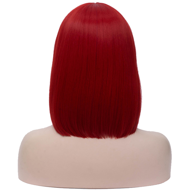 VeryYu 14 inch Straight Short Bob Wigs Hair Extensions & Wigs  VerYYu