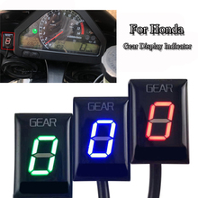 Motorcycle Gear Indicator Hornet CB400 CB600F CB650F CB500X CBR1000RR CBR600F LED Digital Gear Display Indicator Ecu Plug Mount