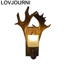 Decor Deco Maison Lampen Modern Lamp Candeeiro Parede Bedroom Wandlamp Lampara De Interior Aplique Luz Pared Wall Light
