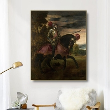 Canvas Art Oil Painting《Emperor…