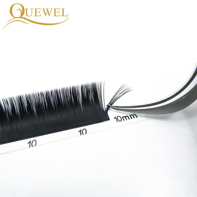 Quewel Easy Fanning Eyelash Extension Blooming Volume Eyelashes Self-making Fast Fans Bloom Lashes Extension Volume Lash 3