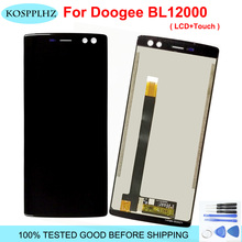 """Per 6.0 """"Doogee BL12000 Display LCD Touch Screen Digitizer Assembly bL 12000 Doogee BL12000 Pro LCD Nero/Blu parti di ricambio"""