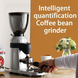 220V Household and commercial Dual use Lapping machine intelligent electric Grinder stainless steel Coffee beans Grinder