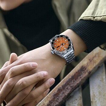 Seiko Automatikuhr | 100% Original Seiko 5 Sprots Herren Uhr 10 Bar Wasserdicht Tauchen Swming Automatische Mechanische Armbanduhren Globale Garantie