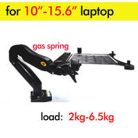 "DL-F82T D-Mount 10"" 2-6.5kg 360 rotate air press gas strut lcd tv mount monitor gas spring tablet laptop desktop support bracket"