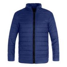 HEFLASHOR Winter Jacket Men 2019 Fashion Stand Collar Male Parka Mens Solid Thick  Coats Man Parkas M-5XL