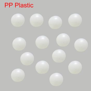 12 7mm 13mm 14mm 15mm 15 875mm średnica biały polipropylen PP twarde sztywne plastikowe G1 zawór kółka łożyska stałe koralik tanie i dobre opinie NONE CN (pochodzenie) Z tworzywa sztucznego