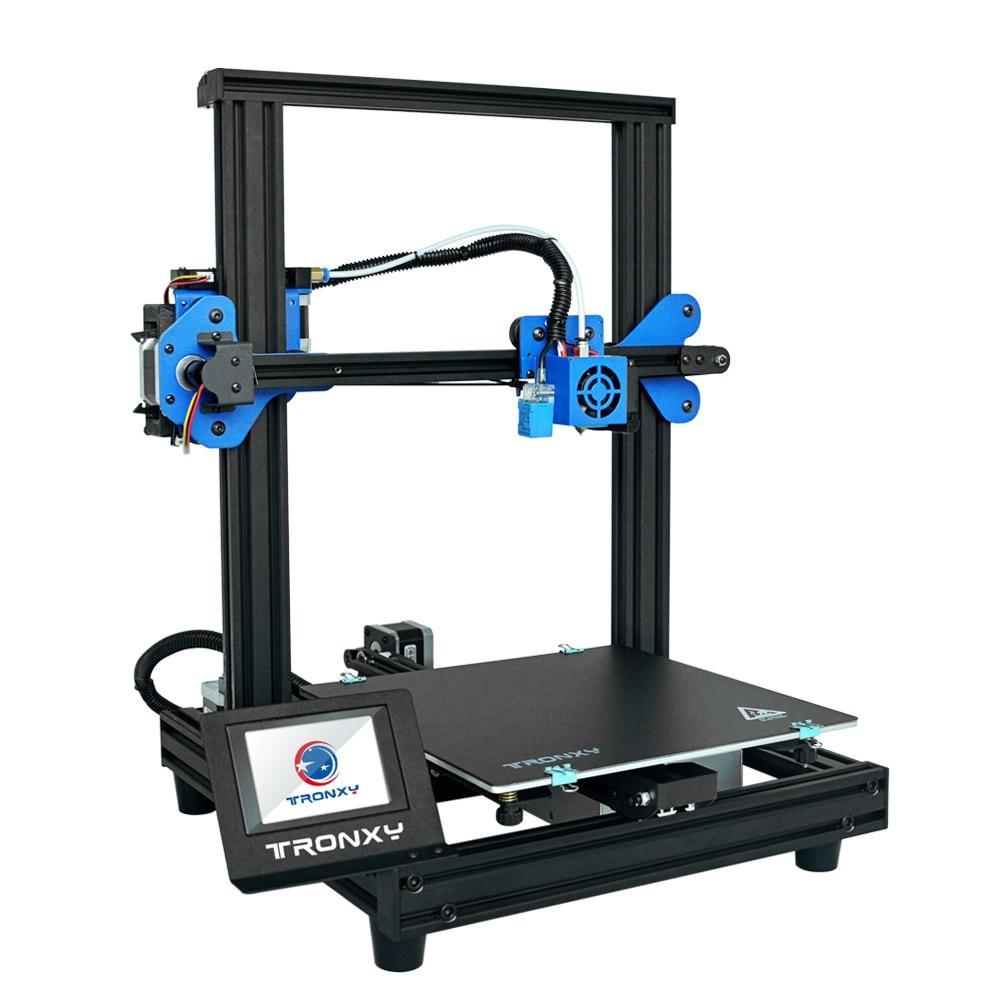 Image 4 - 2019 新しいセット XY 2 プロ 3D プリンタキット高速アセンブリ 255*255*260 ミリメートルサポート自動レベリング再開印刷フィラメント実行アウト検出3D プリンタ   -