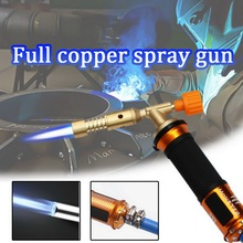 Electronic Ignition Liquefied Gas Welding Gun Torch Kit with 3M Hose for Soldering Cooking Brazing Heating Lighting Weed Killing