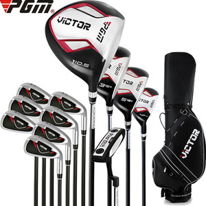 Image 1 - Adults Men Professional Complete Full Set of 12 Golf Clubs Bag Right Hand Putter Steel Wood Carbon Swing Putting Trainer Aids