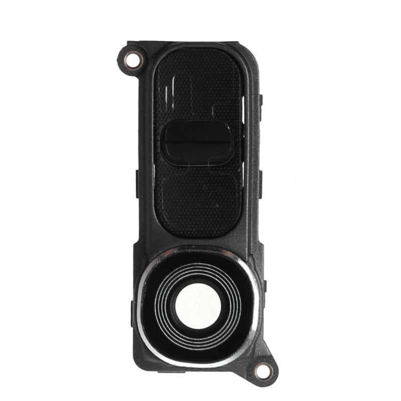 Arka kamera cam çerçeve lens kapağı için güç ses düğmesi LG G4 H810 H811 H815 VS986 LS991