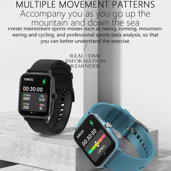 Full Touch Y20 Sport Smart Watch Men Women IP68 custom dial Heart Rate Fitness Tracker Smartwatch wristwatch GTS 2 P8 plus 5