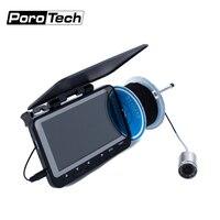 WF06 4.3 pouces 15m 1000TVL sous-marin détecteur de poisson caméra de pêche 8 pièces infrarouge LED Fishfinder glace poisson caméra kit livraison gratuite
