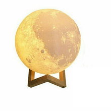 1 X 3D Moon Lamp Dimmable LED Night Ligh
