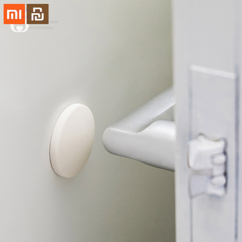 Xiaomi silicone crash pad home anti-collision strong sticky door back door handle crash pad refrigerator door bumper touch smart
