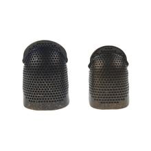 Accessories Finger-Protector Handworking Sewing-Tools Metal DIY Retro Thimble
