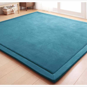 Image 2 - Chpermore Simple Tatami Mats Large Carpets Thickened Bedroom Carpet Children Climbed Playmat Home Lving Room Rug Floor Rugs