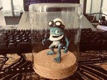 Crazy frog doll crazy frog boneca pingente chaveiro ornamento presente decoração do carro