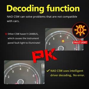 Image 3 - NAO 10x C5W LED Festoon CANBUS 28mm 41mm 44mm 39mm 31mm 36mm C10W led Bulb No Error 12V car interior light Reading singal lamp