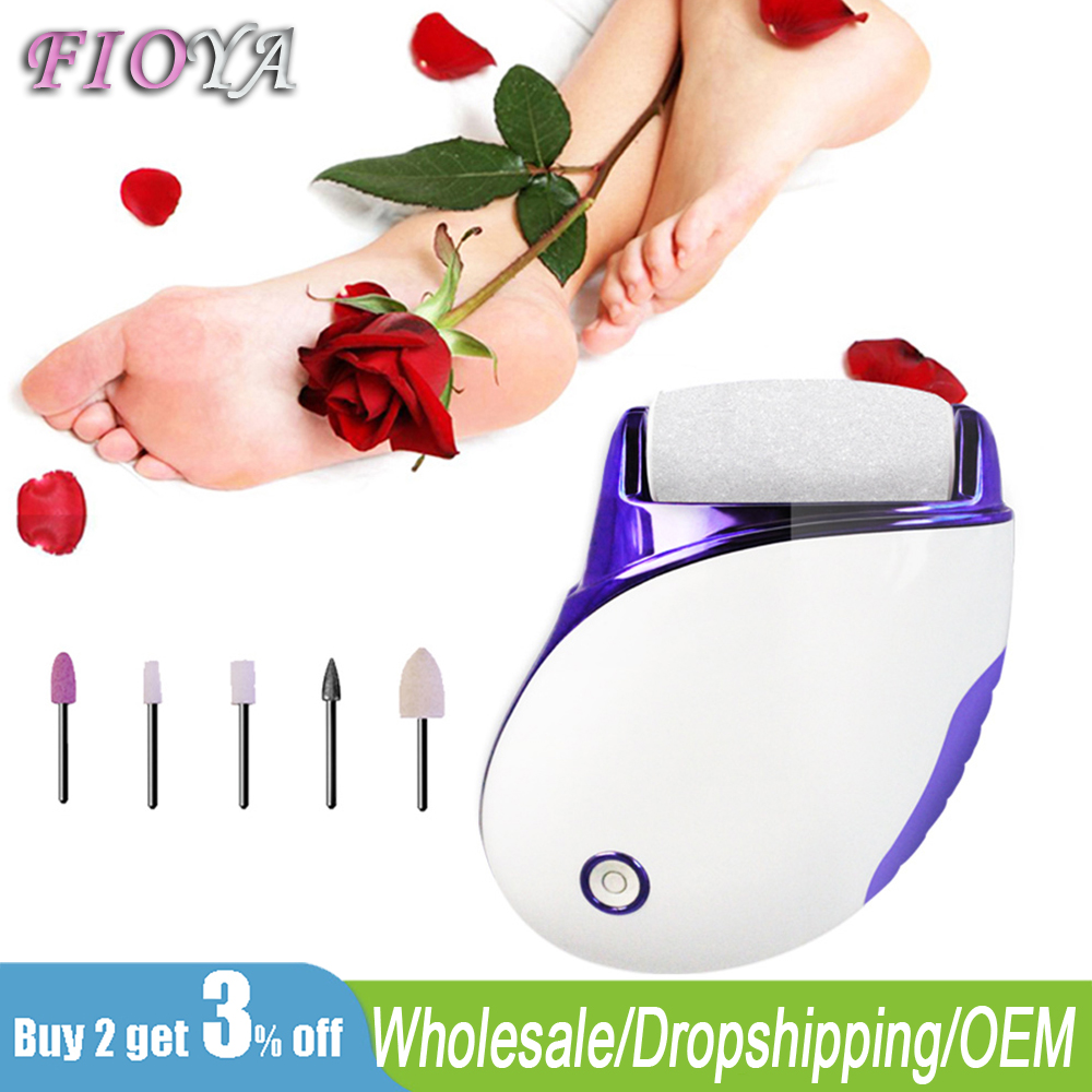 Electric Callus Remover Foot File For Smooth Heel Skin 2 In 1 Foot Care Tool Nail Drill Bit For Pedicure Women Pedicure Tools