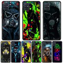 Capa de telefone para samsung galaxy a51 a71 5g a21 a11 a31 a41 a91 a72 a12 a02 silicone macio coque pára-choques dj homem antigas máscara anti-queda